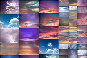PhotoShop Sky & Cloud Overlays