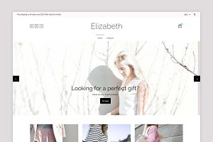 Clean Shopify Theme - Elizabeth