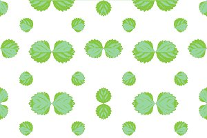 Leaves Motif Seamless Pattern