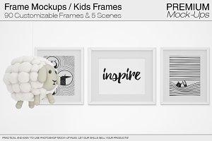 Frames - Nursery Mockup