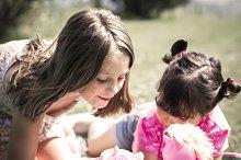 Little girls portrait