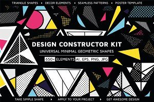 Design Constructor Kit. Triangles