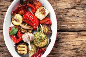 vegan grilled vegetables
