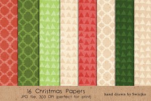 Christmas Patterns - Paper