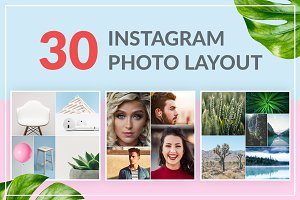 30 Instagram Photo Layout