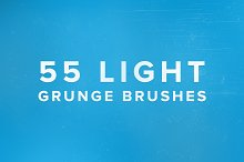 55 Light Grunge Brushes