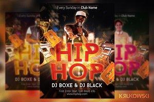 Hip Hop Fire Flyer