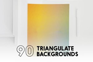 90 Triangulate Backgrounds