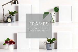 Frame Mockups (4 Images)