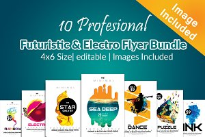 10 Electro Flyer Bundle Vol:02