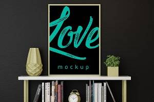 Framed Poster Mock Up