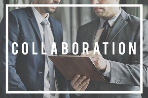 businessmen collaboration
