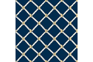 Nautical Rope Background Pattern