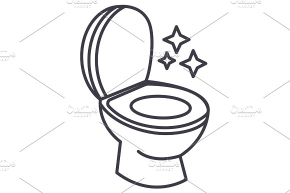 Line Drawing Toilet : Toilet drawing home decor renovation ideas