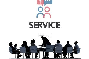 Business people service