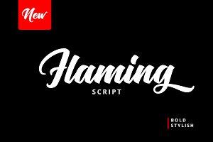 Flaming Script