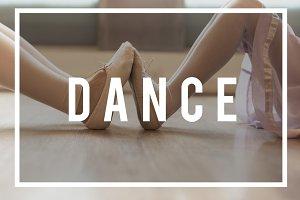 Young girls doing Ballerina