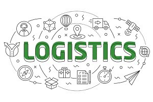 Linear illustration logistic