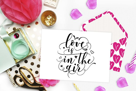 Love Is In The Air Svg Dxf Png Eps Pre Designed Illustrator Graphics Creative Market