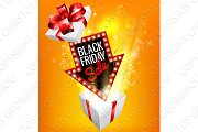 Black Friday Sale Exciting Gift Sign