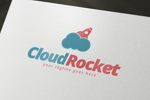 Cloud Rocket Logo