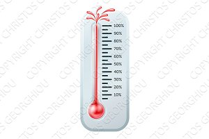 Bursting Thermometer