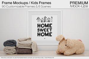 Frames Mockup - Kids Frames Pack