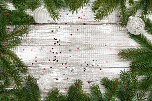 Christmas shabby background