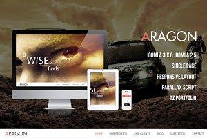 Aragon - Parallax Joomla Template