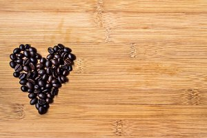love in coffee