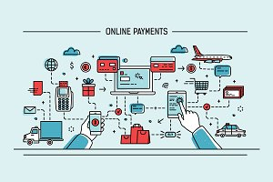 Online payments, money transfers