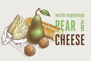 Pear and cheese