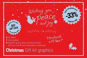 33% OFF - Christmas gift kit