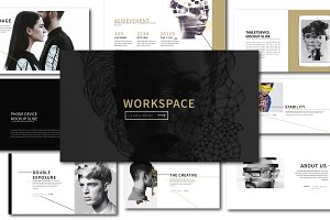 Workspace Agancy Keynote Template