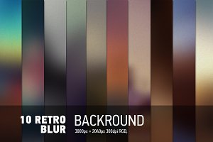 Retro Blurred Backgrounds