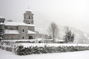 Church at winter