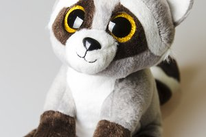 raccon baby toy