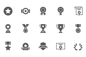 Winning Vector Icons