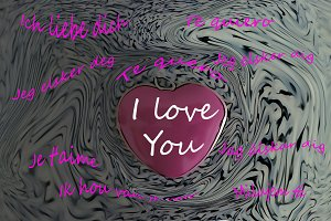 Ilustration I love you