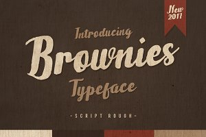 Brownies Typeface