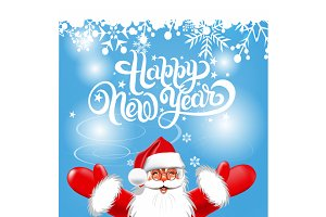 Santa Claus, Happy New Year