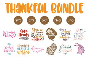 Thanksgiving SVG Bundle for Cricut