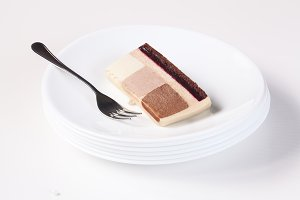 Three Chocolates Mousse Cake