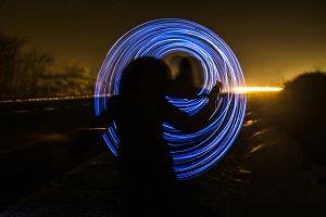 long exposure light
