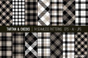 Vector Tartan & Checks Patterns
