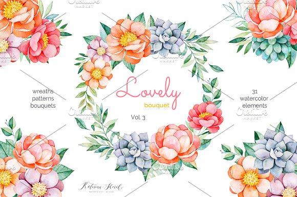 Lovely Bouquet.Vol.3