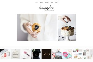 Alexandra - Wordpress Minimal Theme