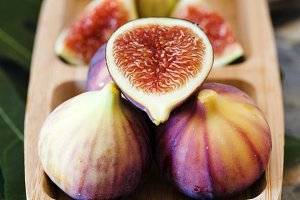 Half of fig