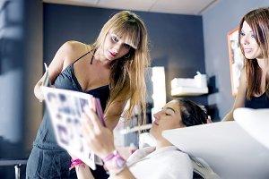 Hairdresser concept