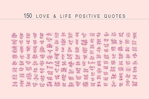 150 love & life quotes